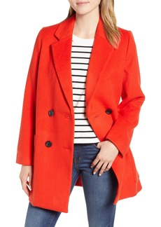 Madewell Hollis Double Breasted Coat