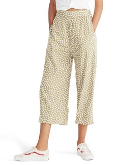 Madewell Huston Daisy Print High Waist Crop Pants