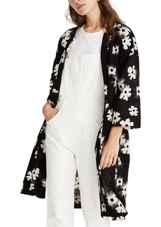 Madewell Ikat Floral Robe Jacket