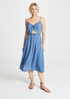 Madewell Indigo Cutout Cami Dress