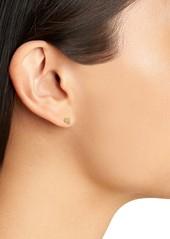 Madewell Initial Stud Earring