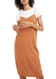 Madewell Inkspot Dots Cami Slipdress