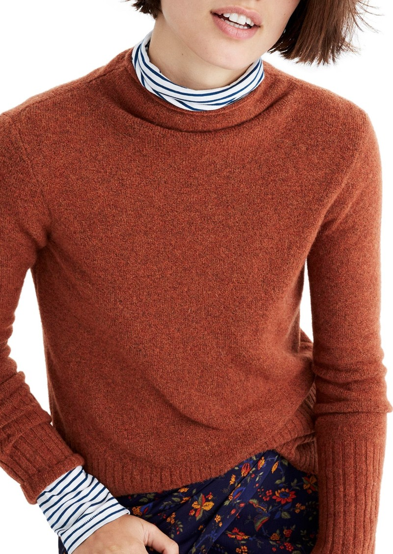 19f5bc555c5 Madewell Madewell Inland Rolled Turtleneck Sweater