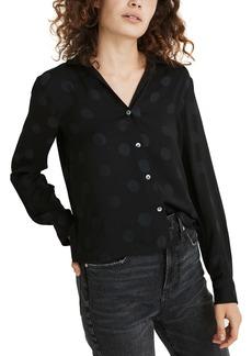 Madewell Jacquard Dot Pajama Top