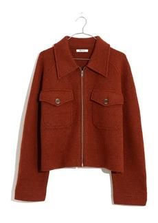 Madewell Johnsville Merino Wool Sweater Jacket