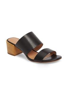 Madewell Kiera Block Heel Slide (Women)