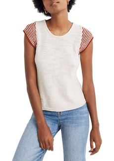 Madewell Kimble Stripe Sleeve Sweater
