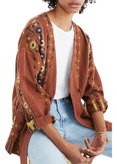 Madewell Kimono Shirttail Jacket