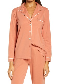Madewell Knit Bedtime Long Sleeve Pajama Top