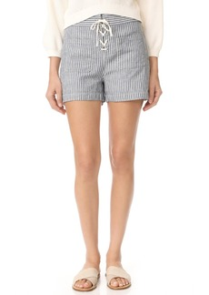 Madewell Lace Up Shorts