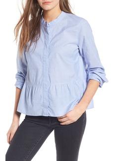 Madewell Lakeside Peplum Shirt