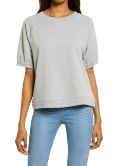 Madewell Lampy Short Sleeve Sweatshirt