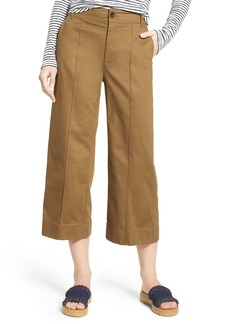 Madewell Langford Crop Wide Leg Pants