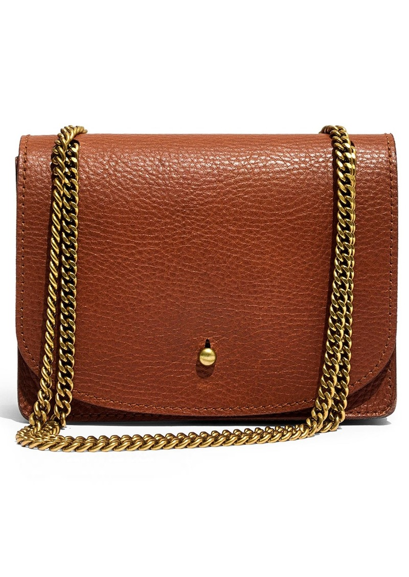 Madewell Leather Crossbody Wallet