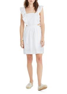 Madewell Leilani Eyelet Apron Dress