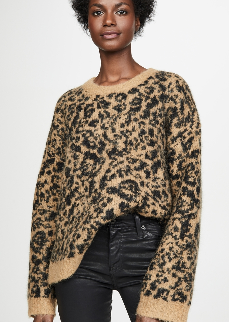 Madewell Leopard Sweater