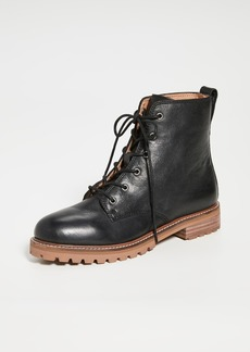 Madewell Levi Lace Up Boots