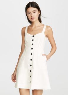 Madewell Linen Front Dress