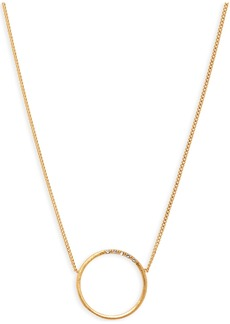 Madewell Luster Circle Necklace