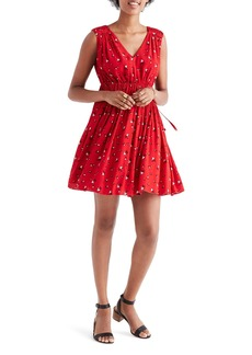 Madewell Magnolia Tie Back Dress