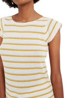 Madewell Marin Smallwood Stripe Sweater Tee