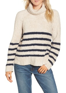 Madewell Mariner Stripe Turtleneck Sweater