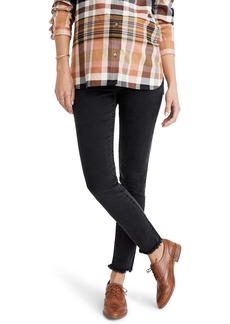 Madewell Maternity Adjustable Edition: Side-Panel Skinny Jeans (Berkeley Wash)