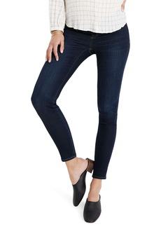 Madewell Maternity Side-Panel Skinny Jeans Adjustable Tencel® Lyocell Edition (Larkspur Wash)