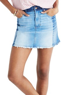 Madewell McCaren Denim Miniskirt