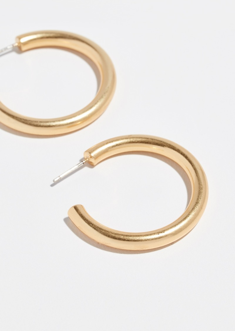 268f2091e Madewell Madewell Medium Chunky Hoop Earrings | Jewelry
