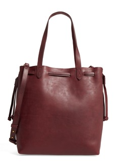 Madewell Medium Drawstring Transport Leather Tote