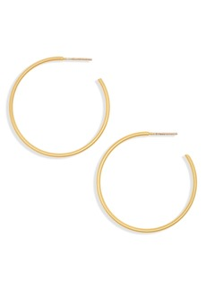 Madewell Medium Hoop Earrings
