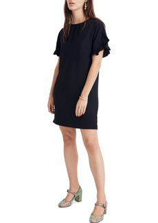 Madewell Memento Ruffle Sleeve Dress