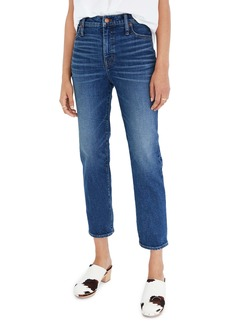 Madewell Mid Rise Classic Straight Jeans (Carsondale)