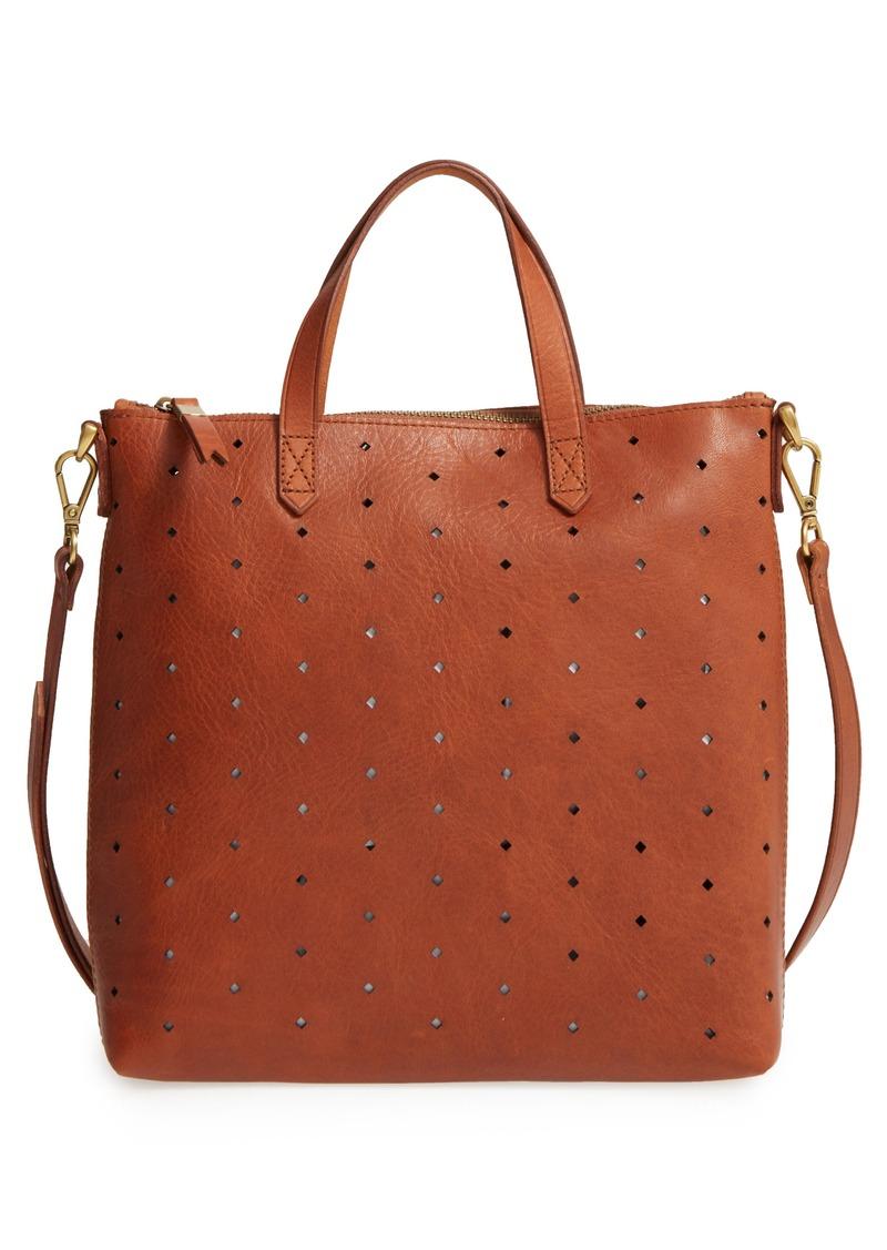 33a5e3c969fb Madewell Madewell Mini Transport Perforated Leather Crossbody Bag ...