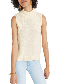 Madewell Mixed Stitch Sweater Tank