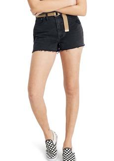 Madewell Momjean Cutoff Denim Shorts (Encino)