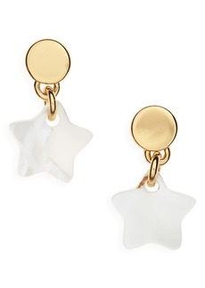 Madewell Mother of Pearl Star Earrings