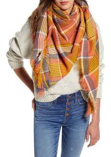 Madewell Multi Plaid Blanket Scarf (Nordstrom Exclusive)