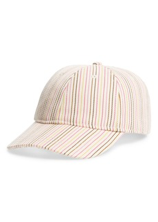 Madewell Multi Stripe Baseball Cap