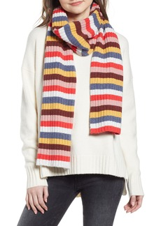 Madewell Multi Stripe Knit Scarf