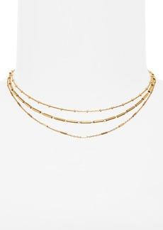 Madewell Multistrand Choker Necklace