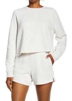 Madewell MWL Airtyterry Crop Sweatshirt