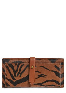 Madewell New Post Genuine Calf Hair Wallet
