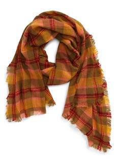 Madewell Northall Plaid Wool Scarf