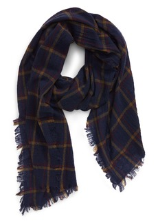 Madewell Northall Plaid Wool Scarf