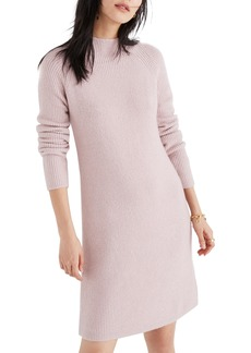 Madewell Northfield Mock Neck Sweater Dress
