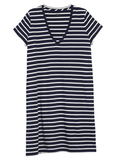 Madewell Northside Vintage Stripe V-Neck T-Shirt Dress