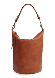 Madewell O-Ring Leather Bucket Bag