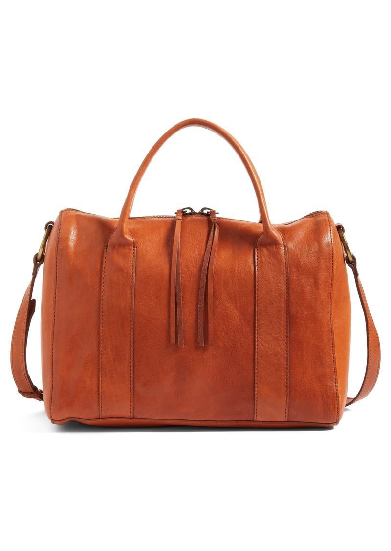 ca2def5b42fc Madewell Madewell O-Ring Leather Satchel